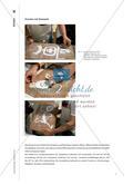 Bilder drucken mit Stempeln, Walzen und Schablonen Preview 6