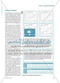 Schneckenrennen - Graphen, Wertetabellen und Texte begründet einander zuordnen Preview 2