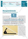 Moosgummidreiecke - Entdeckungen an Dreiecken durch Legen und Ausprobieren Preview 1