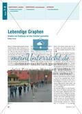 Lebendige Graphen - Graphen von Funktionen auf dem Schulhof nachstellen Preview 1