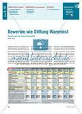 Bewerten wie Stiftung Warentest - Bewertung eines Unterrichtsprojekts Preview 1