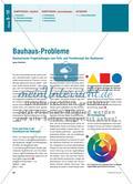 Bauhaus-Probleme - Geometrische Fragestellungen zum Farb- und Formkonzept des Bauhauses Preview 1