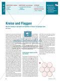 Kreise und Flaggen - Wie der Einstieg in die Arbeit mit GeoGebra gelingen kann Preview 1
