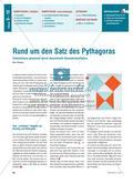 Rund um den Satz des Pythagoras - Erkenntnisse gewinnen durch dynamische Geometriesoftware Preview 1