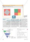 Rund um den Satz des Pythagoras - Erkenntnisse gewinnen durch dynamische Geometriesoftware Preview 3
