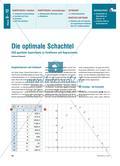 Die optimale Schachtel - DGS-gestützte Experimente zu Funktionen und Regressionen Preview 1