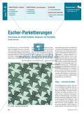 Erforschung von Escher-Parketten: Kongruenz und Symmetrie Preview 1