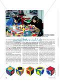 """Mein Vasarely-Würfel - Gestaltung eines Würfels mit einem eigenen """"plastischen Alphabet"""" Preview 3"""