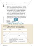 """Inhalte herausgesucht – Präsentation """"in der Tasche""""?: Präsentationen reflektieren, beurteilen und überarbeiten Preview 2"""