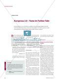 Kurzprosa 2.0 – Texte im Twitter-Takt Preview 1
