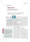 Wege zu Faust - Eine Unterrichtsreihe zur Graphic Novel Faust. Der Tragödie erster Teil von Flix Preview 1
