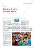 Einblicke in eine lesende Schule - Den Zugang zur Literatur früh verankern Preview 1