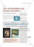 """""""Hin- und herblättern und schauen und suchen …"""" Preview 1"""