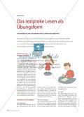 Das reziproke Lesen als Übungsform - Von Fragenstellern, Zusammenfassern, Klärern und Vermutern Preview 1