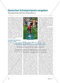 Deutscher Schulsportpreis vergeben - Zwei Siegerschulen stellen ihre Schulsportfeste vor Preview 1