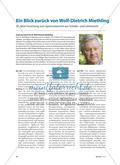 Ein Blick zurück von Wolf-Dietrich Miethling - 35 Jahre Forschung zum Sportunterricht aus Schüler- und Lehrersicht Preview 1