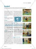 Burgball - Ein bewegungsintensives Mannschaftsspiel für alle Altersgruppen Preview 1