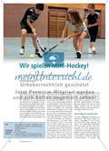 Wir spielen Mini-Hockey! - Im 3:3 auf kleinen Feldern das Hockeyspielen lernen Preview 1