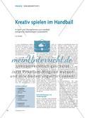 Kreativ spielen im Handball Preview 1