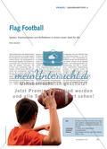 Flag Football - Spielen, Kommunizieren und Reflektieren in einem neuen Spiel für alle Preview 1
