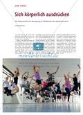Sich körperlich ausdrücken - Die Expressivität von Bewegung im Mittelpunkt des Sportunterrichts Preview 1