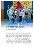 Hüpfburg für Große - Das Airtrack im Sportunterricht Preview 1