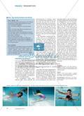 Kreative Wasserakrobaten - In Kleingruppen eine Kür entwickeln, erproben und präsentieren Preview 3