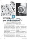 Sauerstoff ist O … oder O2 … oder ein gasförmiger Stoff?! - Die didaktische (Un-)Klarheit chemischer Elemente Preview 1