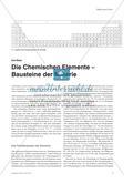 Die Chemischen Elemente – Bausteine der Materie Preview 1