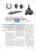 Eine Lernstraße zu Eisen - Struktur-Eigenschaftsbeziehungen systematisch erarbeiten Preview 1
