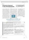 Chemische Elemente in der ChemieOlympiade Preview 1