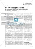 Ist BIO wirklich besser? - Ein Rollenspiel zur Förderung der Bewertungskompetenz am Beispiel von Badreinigern Preview 1