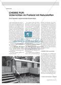 CHEMIE PUR: Unterrichten im Freiland mit Naturstoffen - Eine interaktiv experimentelle Bodenrallye Preview 1