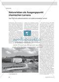 Naturerleben als Ausgangspunkt chemischen Lernens - Das FLEX als außerschulischer und außeruniversitärer Lernort Preview 1