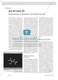 Aus 2D mach 3D - 3D-Darstellungen von Molekülen mit der Software ChemPad Preview 1