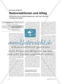 """Redoxreaktionen und Alltag - Die Einführung der Redox-Reaktionen nach dem Konzept """"Chemie fürs Leben"""" Preview 1"""