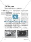 Lab in a drop - Elektrochemische Experimente im Wassertropfen Preview 1