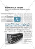 Mit Aluminium fahren? - Durch Aufgaben mit gestuften Hilfen den Fokus der Bearbeitung variieren Preview 1