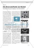 Die Brennstoffzelle als Modell - Veranschaulichung der Vorgänge in einer Brennstoffzelle Preview 1