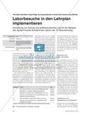 Laborbesuche in den Lehrplan implementieren Preview 1