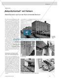 """""""BetonSchönheit"""" mit Fehlern - Betonkorrosion auch an der Ruhr-Universität Bochum Preview 1"""