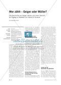 Wer zählt – Geiger oder Müller? Preview 1