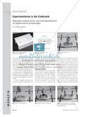 Experimentieren in der Elektronik - Steckbare elektronische Low-Cost-Bauelemente für elektronische Schaltungen Preview 1