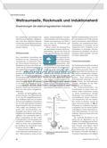 Weltraumseile, Rockmusik und Induktionsherd - Anwendungen der elektromagnetischen Induktion Preview 1