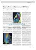 Motorradkrümmer, Schinken und CD-Hüllen - Beispiele in Natur und Technik, wie aus weißem Licht Farbverläufe werden Preview 1