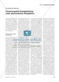 Forschungsfeld Energiebildung unter ökonomischer Perspektive Preview 1