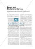 Berufs- und Studienorientierung - Aktuelle Herausforderungen für Schulen und Kooperationspartner Preview 1