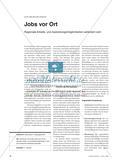 Jobs vor Ort - Regionale Arbeits- und Ausbildungsmöglichkeiten verändern sich Preview 1