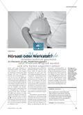 """Hörsaal oder Werkstatt? - Zur Diskussion um den """"Akademisierungswahn"""" Preview 1"""