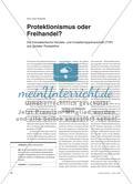 Protektionismus oder Freihandel? - Die Transatlantische Handels- und Investitionspartnerschaft (TTIP) aus globaler Perspektive Preview 1